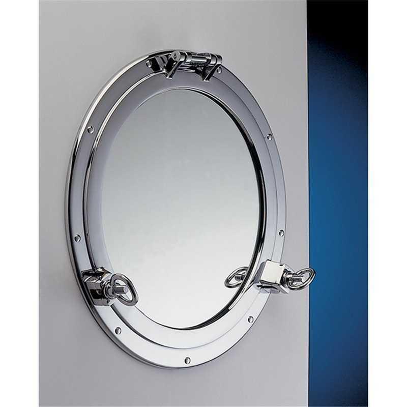 Obl apribile in ottone cromato con specchio da 300 mm for Arredo casa guardiagrele