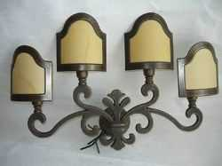 Illuminazione lampade da parete ottone da interno classico