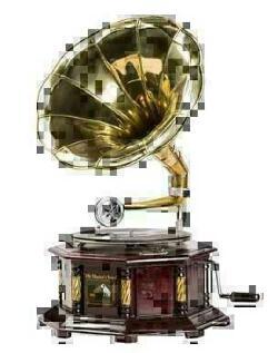 Complementi d 39 arredo riproduzione grammofoni for Arredo casa guardiagrele