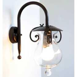 Illuminazione Ferro Lampade Da Parete Rustico Da Esterno