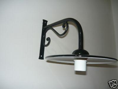 Lampada da esterno in ferro con piatto smaltato  eBay