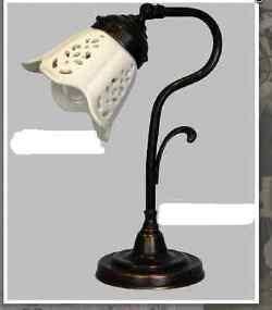 Illuminazione da interno ottone classico lampade da tavolo lampade - Abat jour camera da letto ...