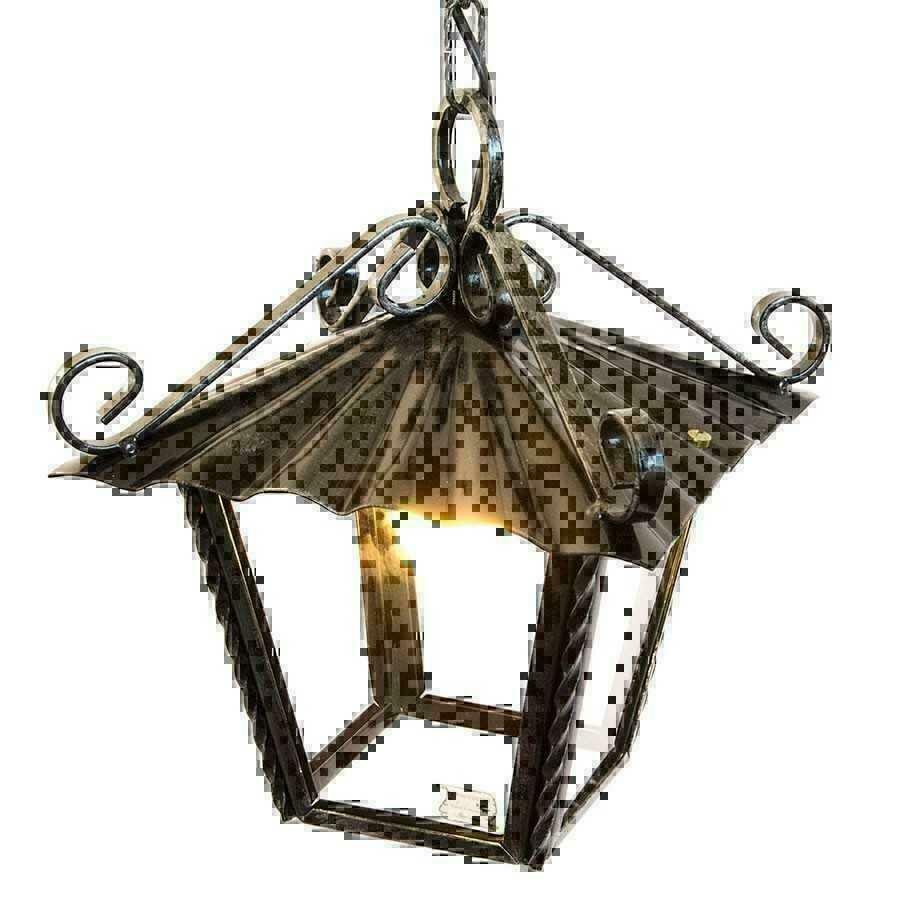 Laterne lampe kronleuchter von au erhalb innenseite - Outdoor kronleuchter ...