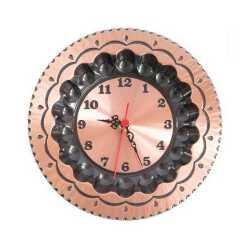 Orologio da parete in rame lucido padella pentola misura piccola