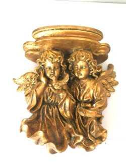 Complementi d 39 arredo fregi in legno foglia oro pezzi for Arredo casa guardiagrele