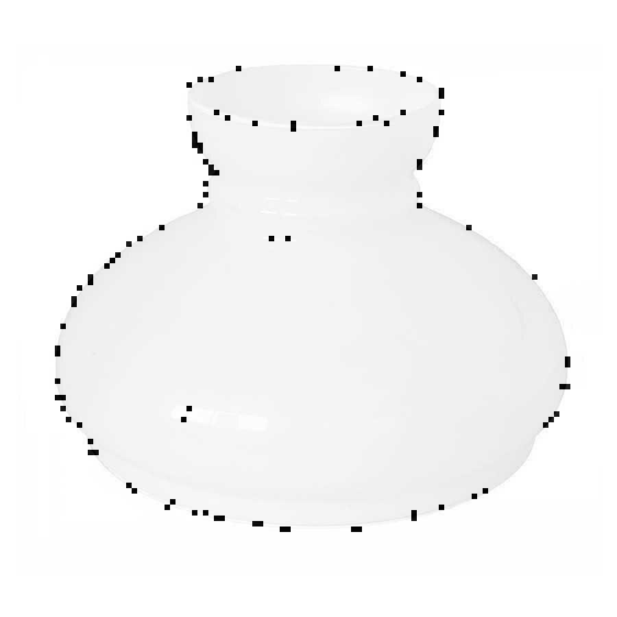 Vendita Mobili Stile Vecchia America paralume bianco latte in vetro per lampade vecchia america 24 cm