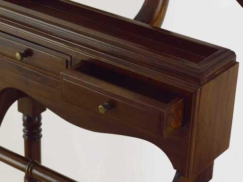 Omino in legno di mogano camera da letto for Arredo casa guardiagrele