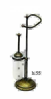 Complementi d 39 arredo linea ottone brunito classico for Complementi d arredo per bagno