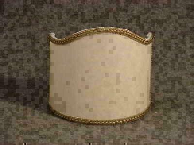 Morbida sciarpa patchwork stoffa americana con applique donna